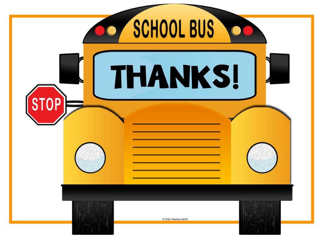 School Bus THANKS!