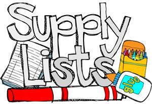 FMS Supply List