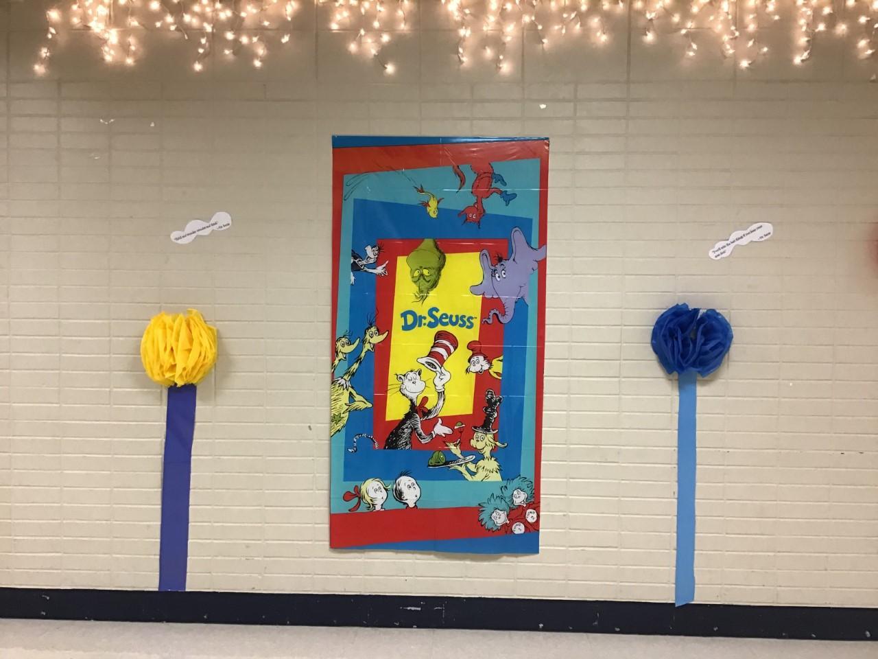 Dr. Seuss Hall Decoration