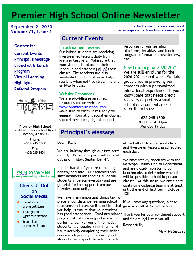 Newsletter page 1 9.2.20