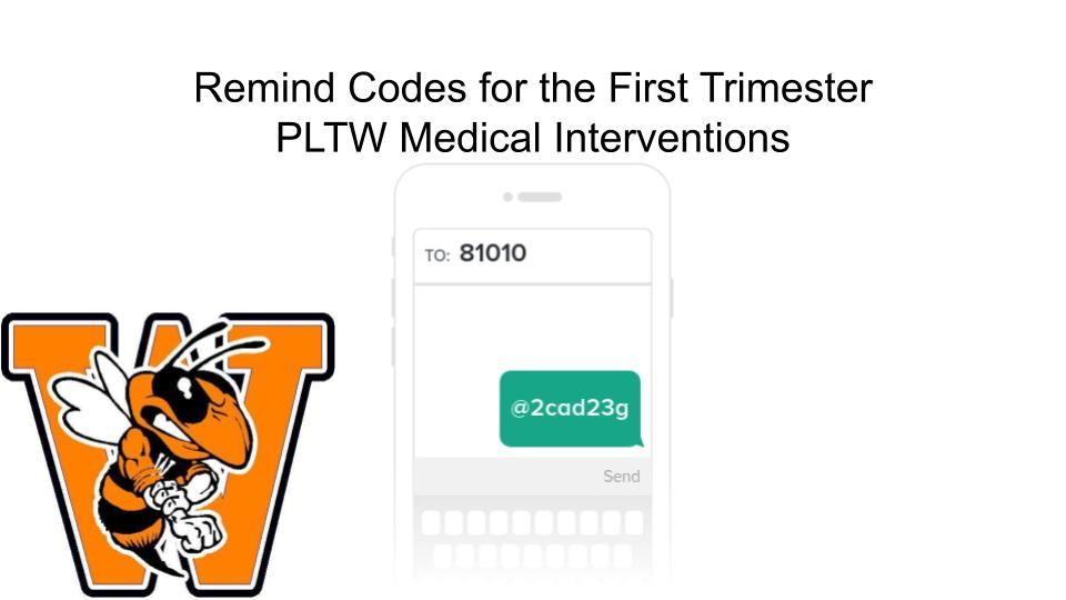 PLTW Medical Intervention