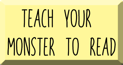 enseña a tu monstruo a leer