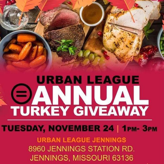 Urban League Thanksgiving Basket Giveaway