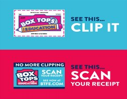 box tops for education  icon with link to readable pdf file on changes to box tops for education