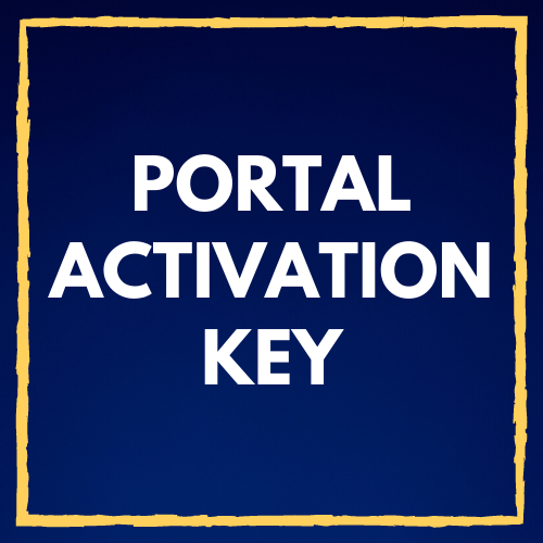 Portal Activation Key - Click Here
