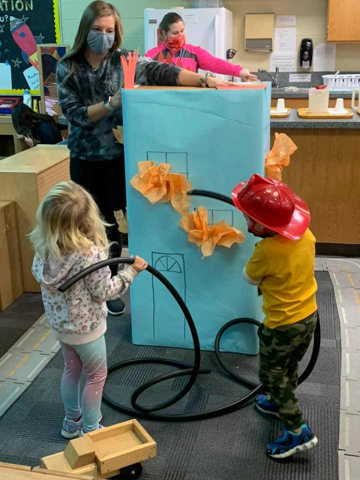 Role-playing with preschoolers