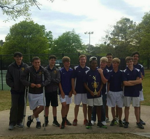 boys tennis team 2016
