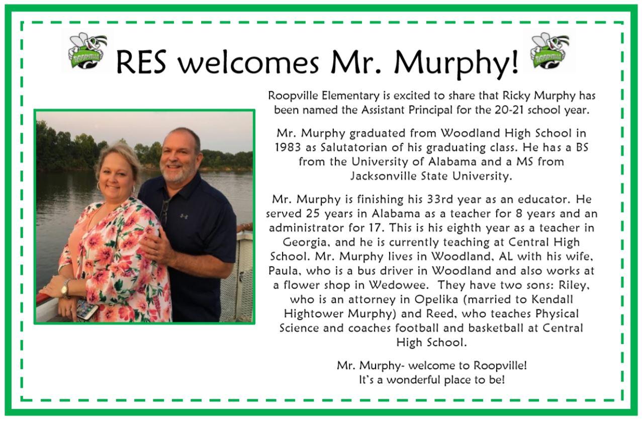 Ricky Murphy New AP