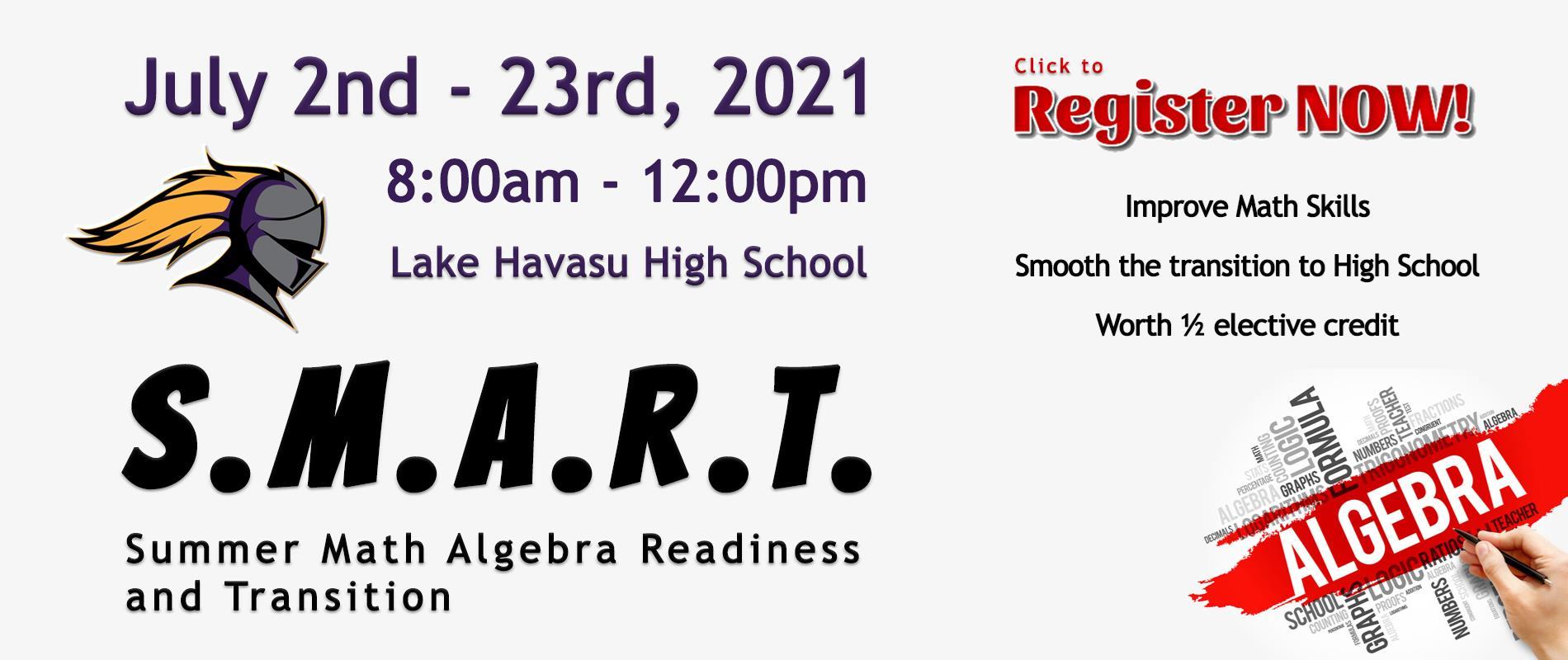 banner ad for SMART program