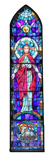 Sanctuary Main Stained Glass Window