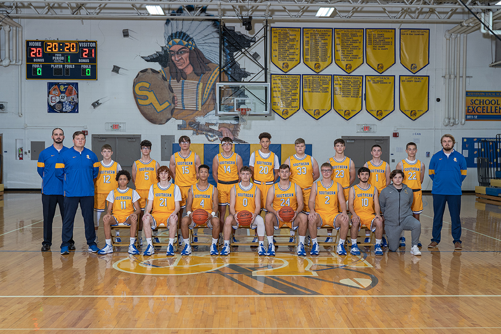 2020 Varsity and Jr. Varsity Boys Basketball team