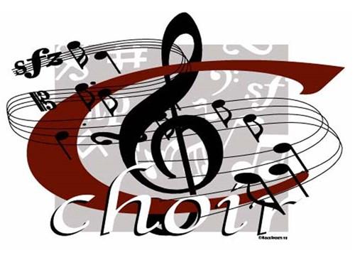 Choir banner graphic