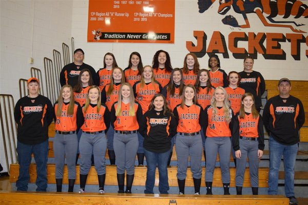 HS Softball Team Picture