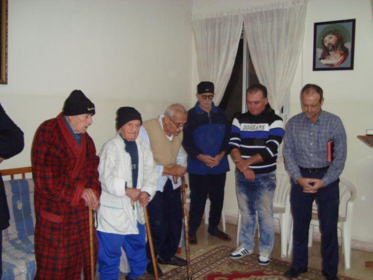 Praying with Elderly