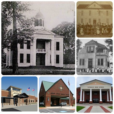 HCBOE History Collage