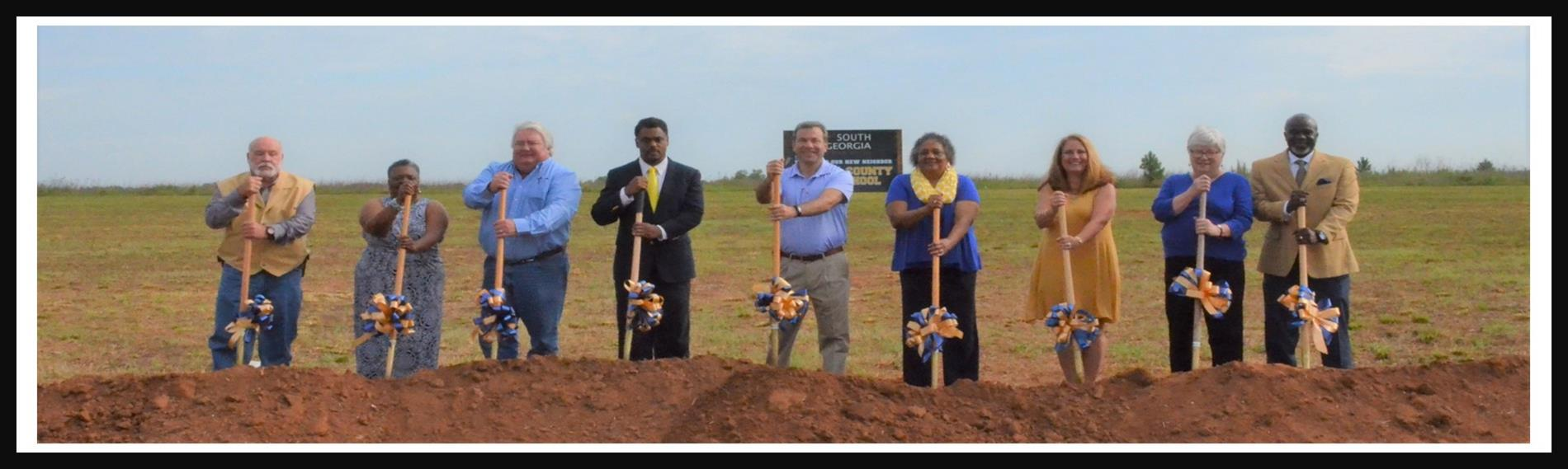 SCS Board Member - Ground Breaking