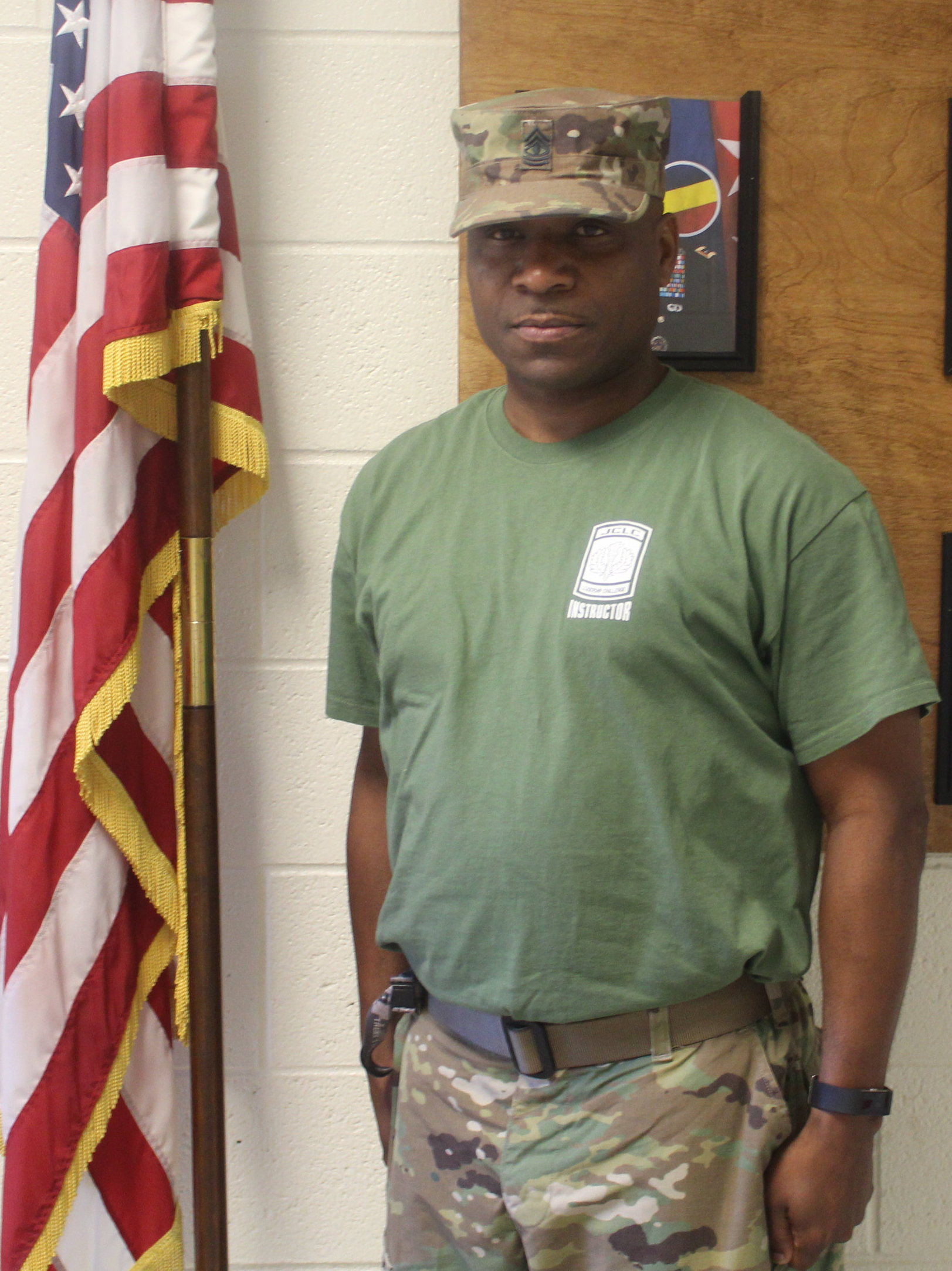 First Sergeant Chris Smith