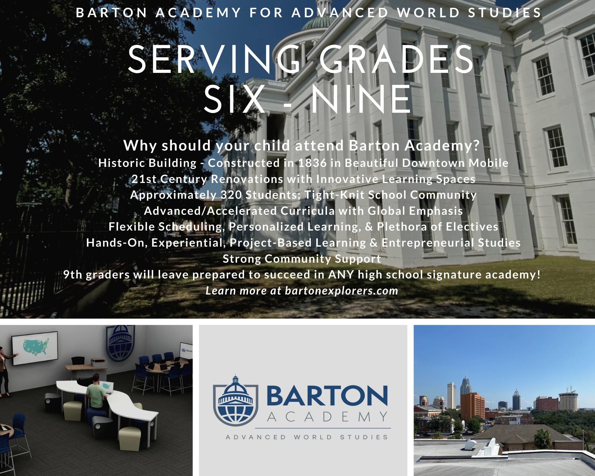 Serving Grades 6 through 9