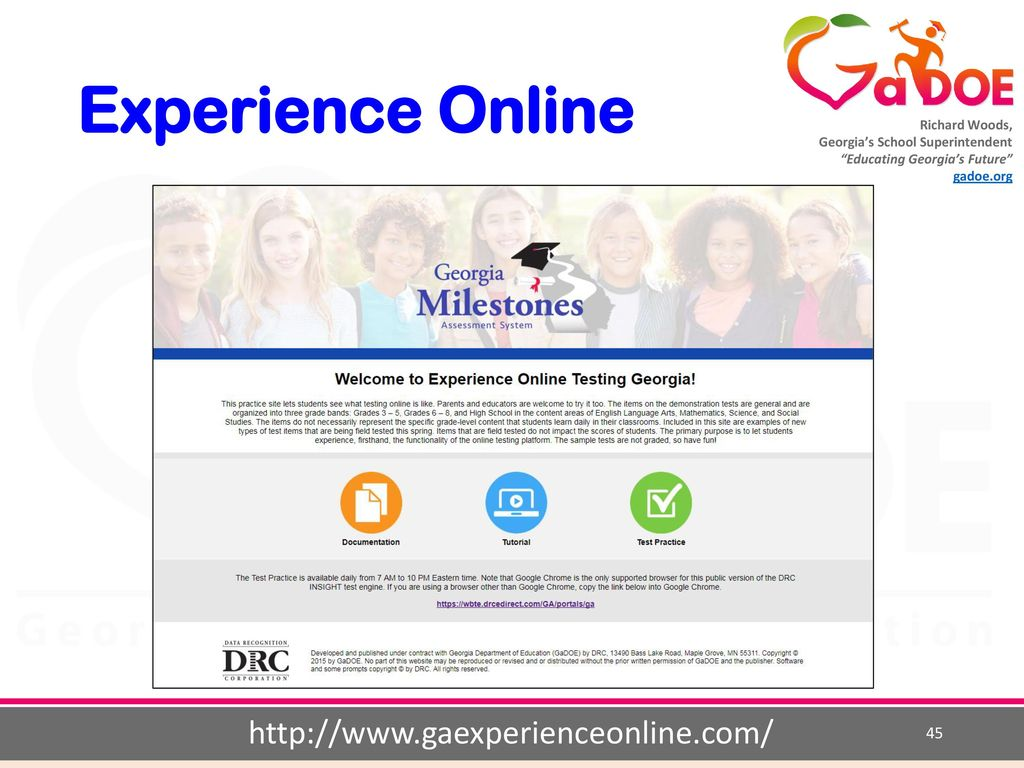 GA Experience
