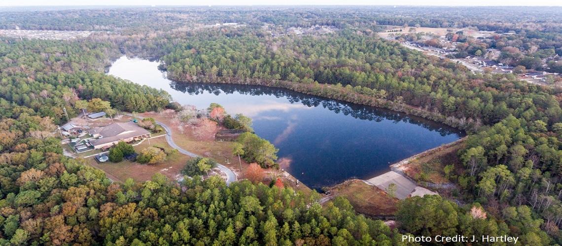 Aerial view of ESC