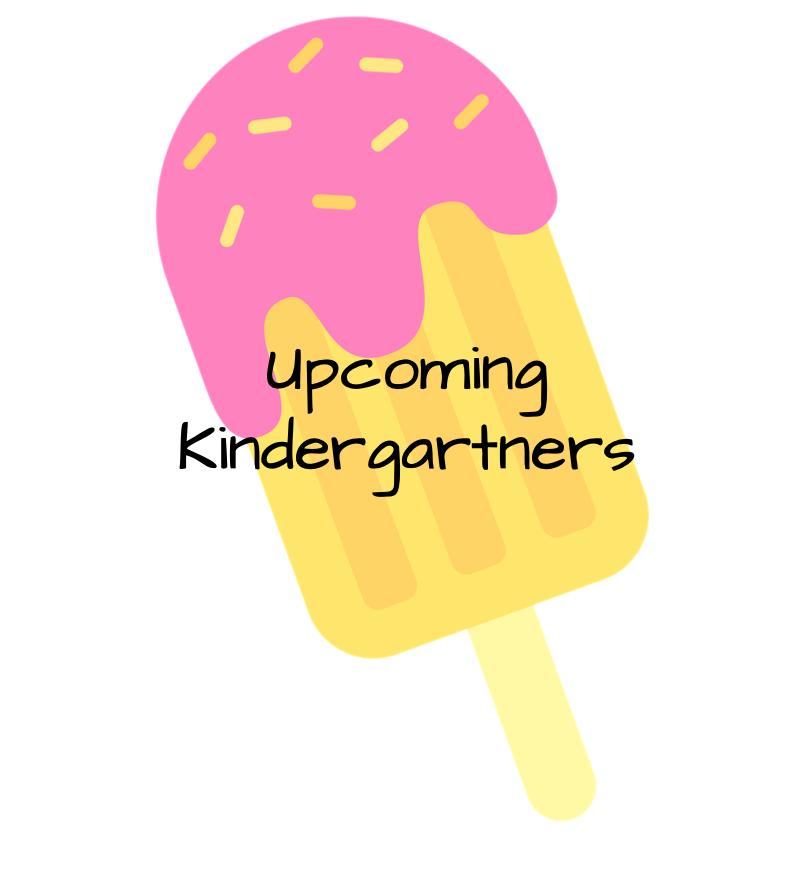 Upcoming Kindergartners