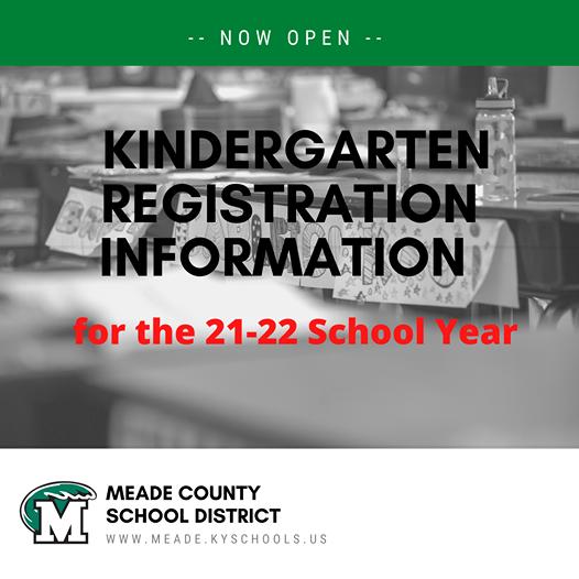 Kindergarten Registration 21-22