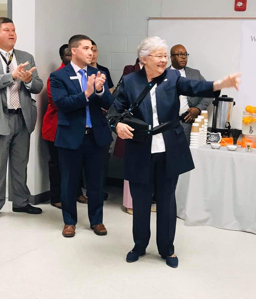 Governor Kay Ivey visits Pickens County