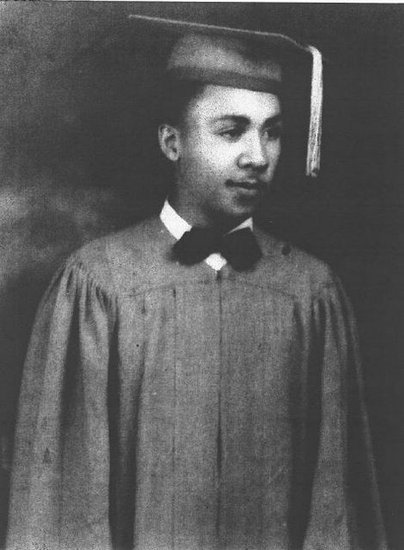 Herman Ragin in graduation uniform