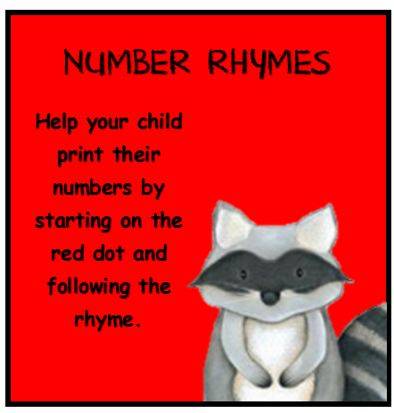 Cover for Number Rhymes