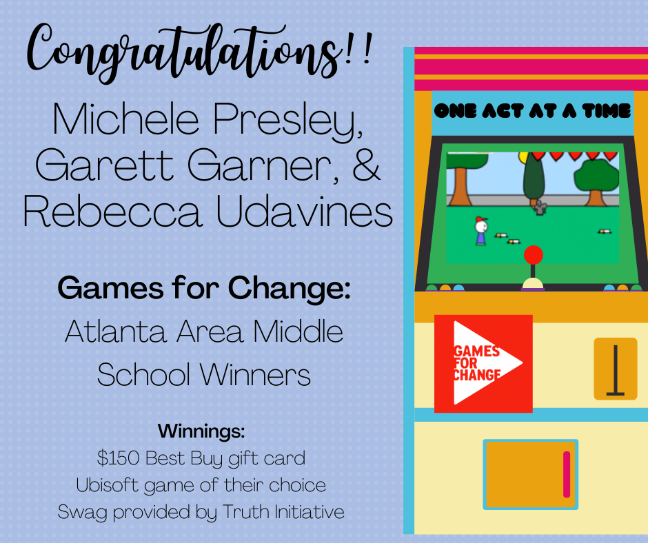Games for Change Winners!