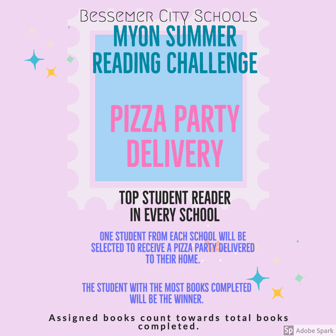 Summer myOn Challenge Pizza Party