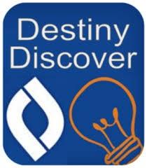 Destiny Discover Library Catalog Button