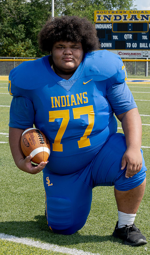 #77 Sophomore Dominic Foster