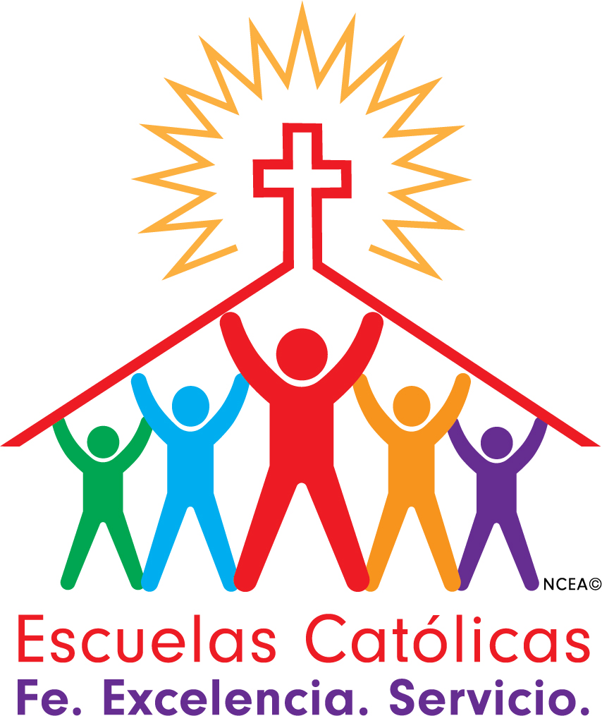 Catholic Schools Week logo Spanish