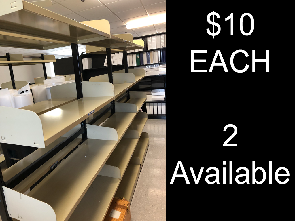 $10 Shelving Units (2 Available)