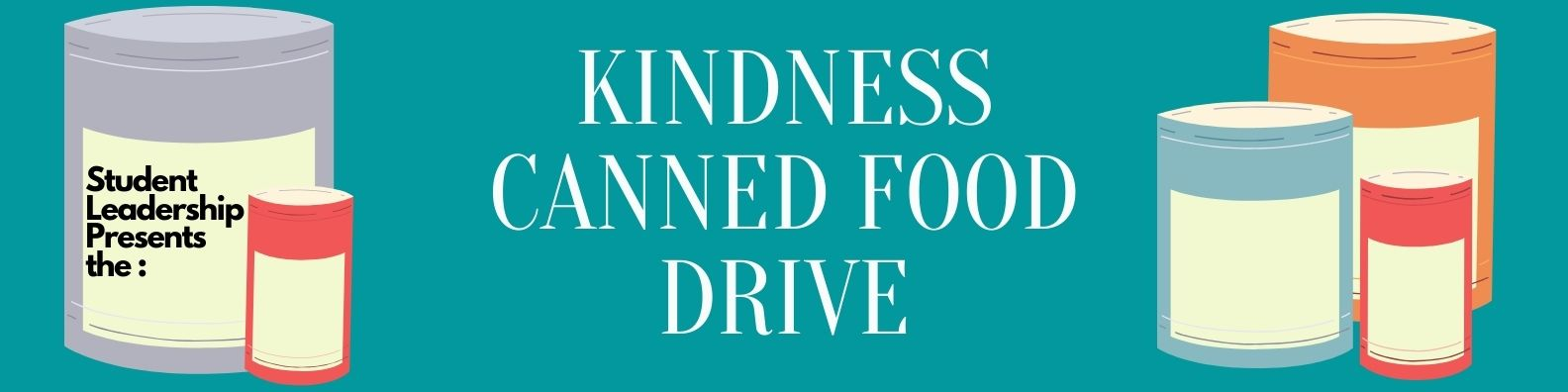 Kindness Canned Food Drive