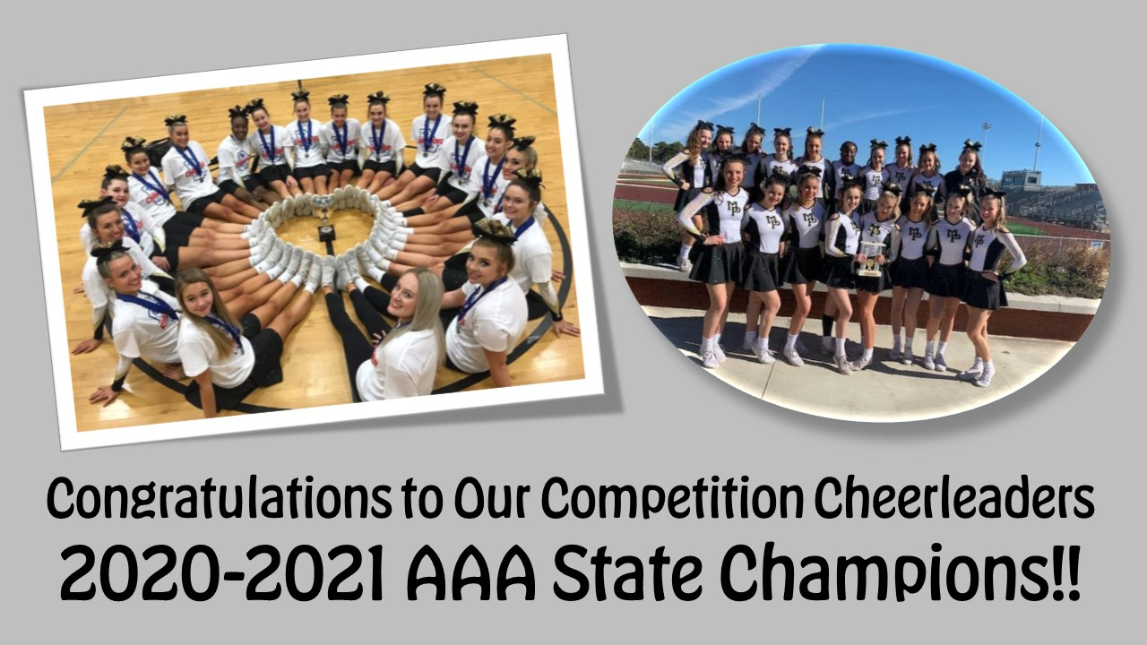 Competition Cheerleaders - State Champions
