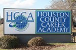 sign reading houston county career academy