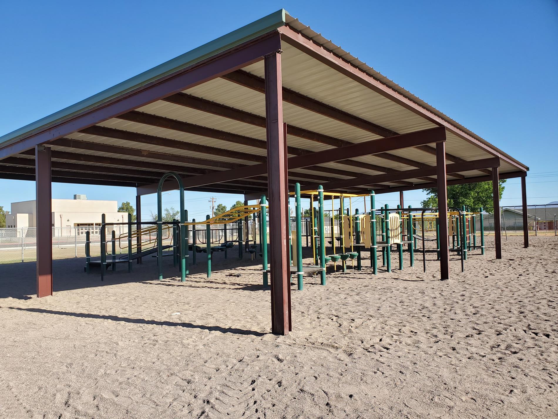 Shade Covered Playground