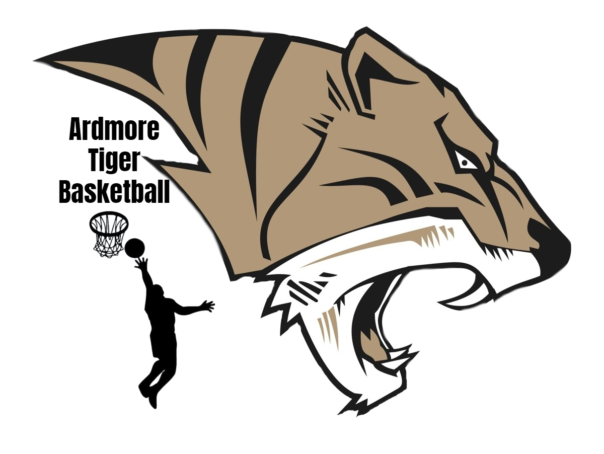 AHS Tiger Basketball Logo