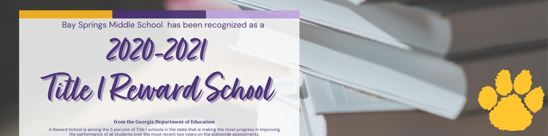 Title I Reward School