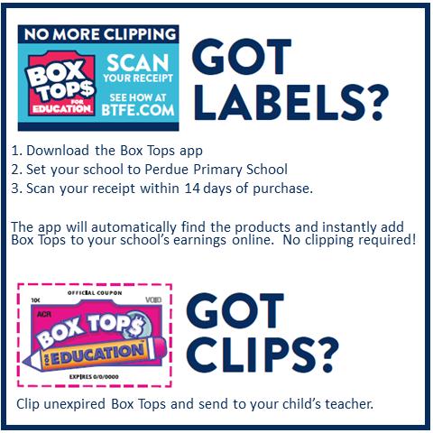 Box tops School Rewards