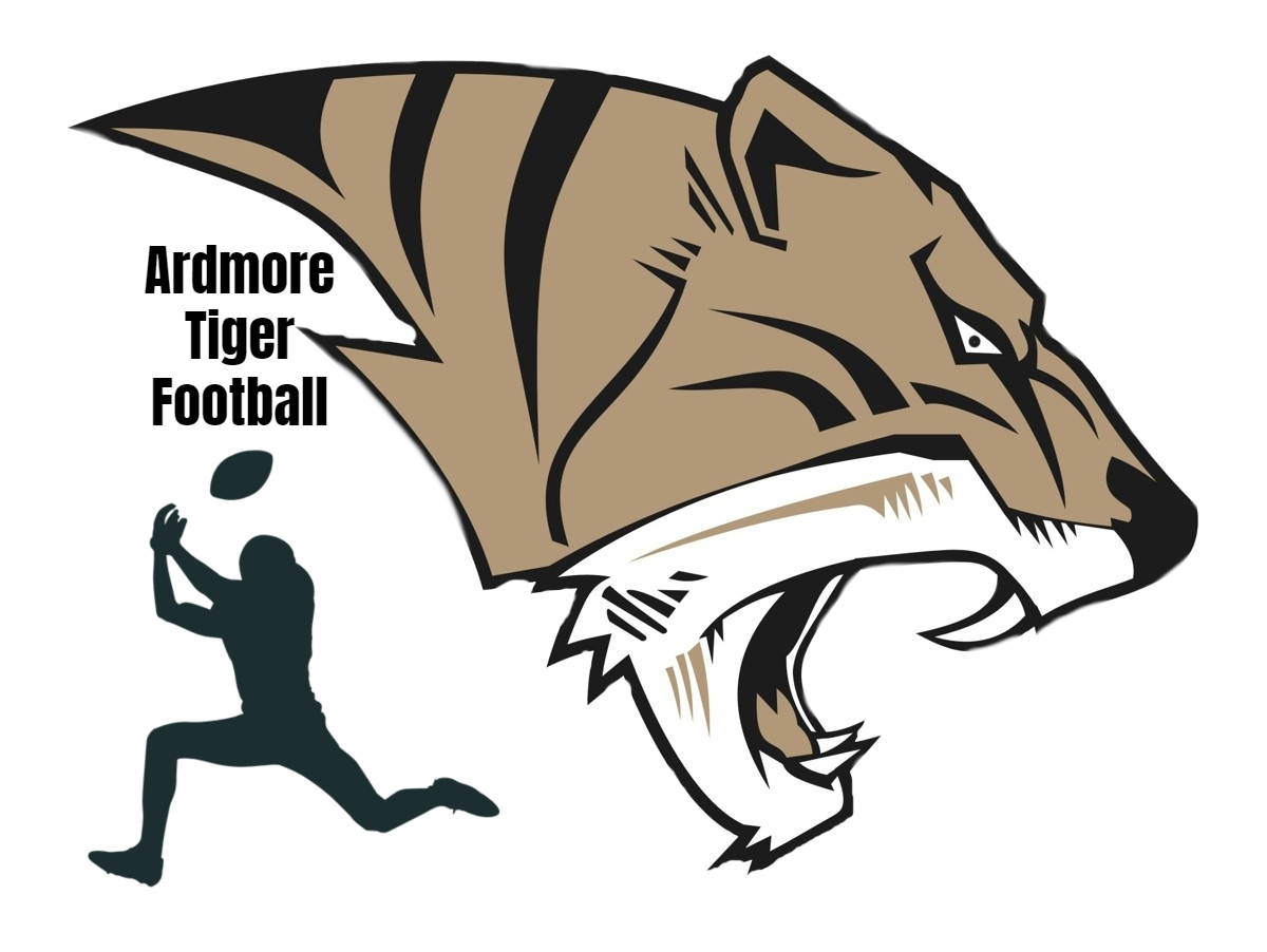 AHS Tiger Football Logo