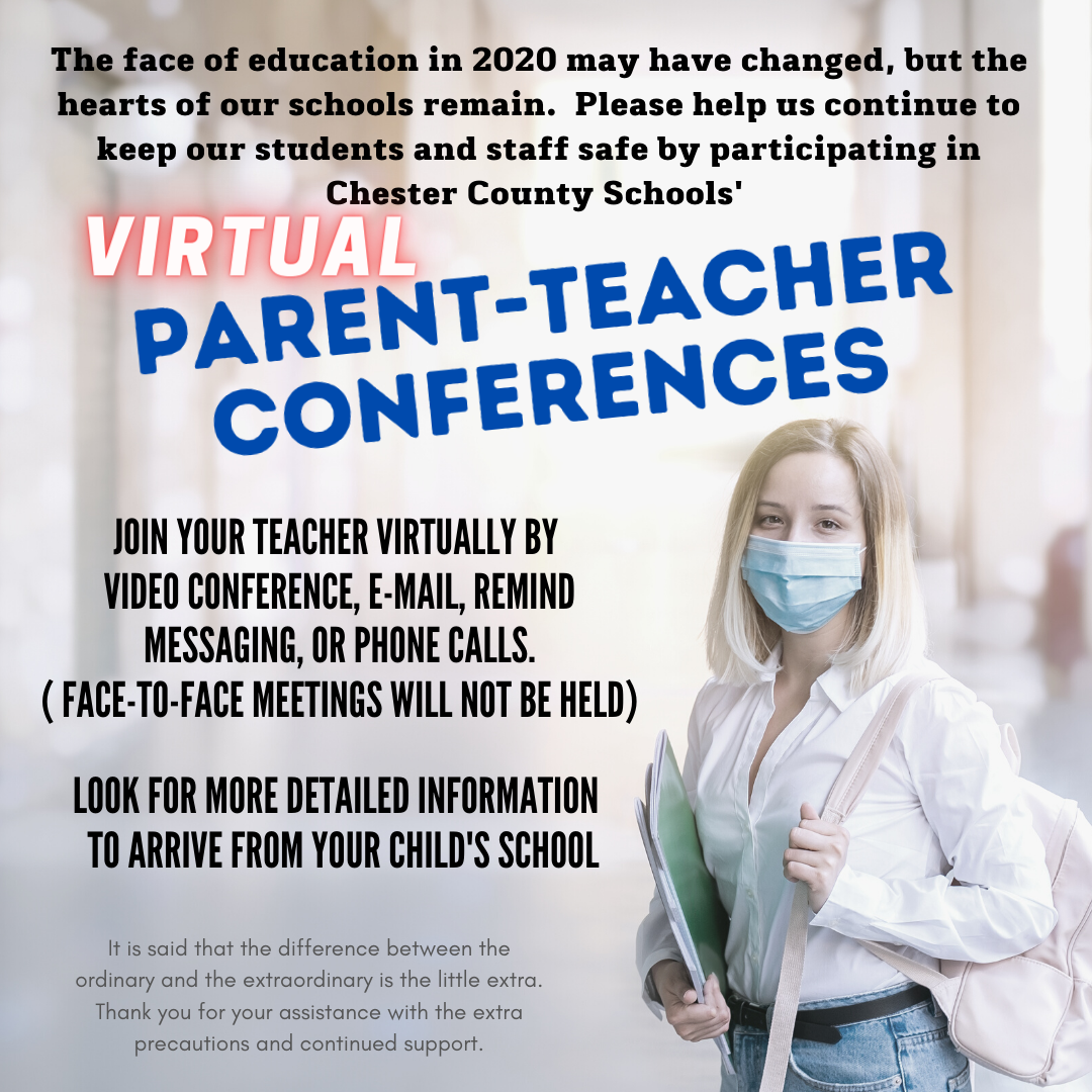 Parent teacher Conference announcement