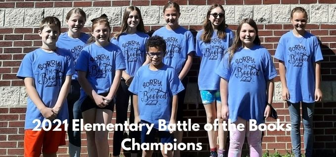 LCES Battle of the Books Champions