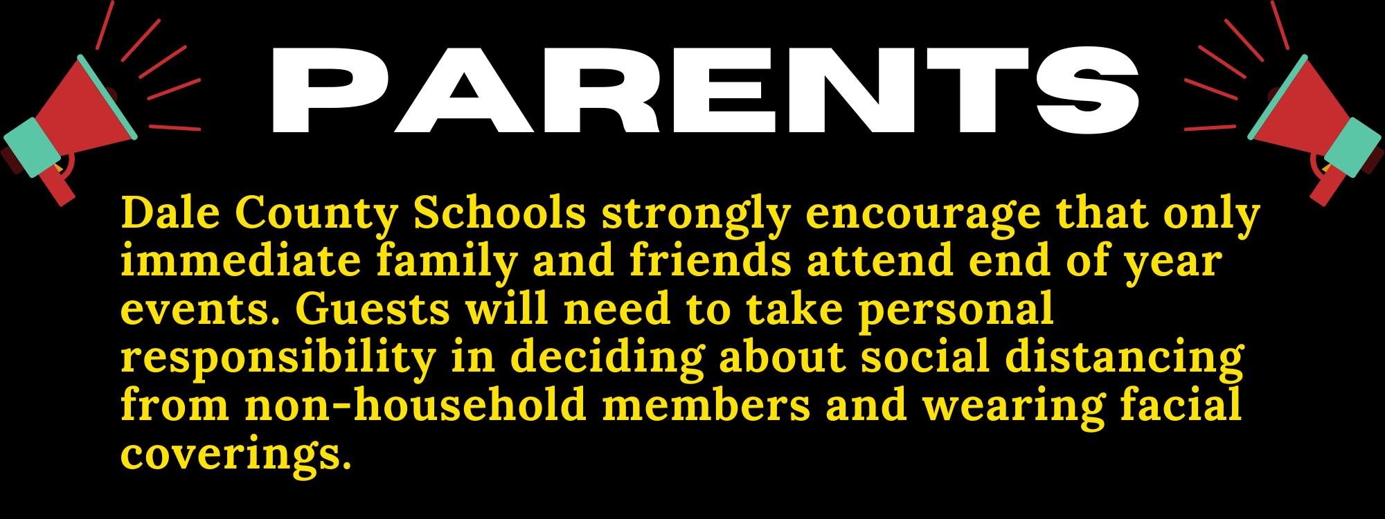 Parent EOY Events Notice