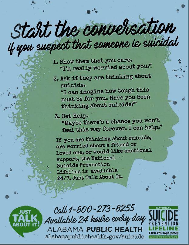 Suicide Prevention Information