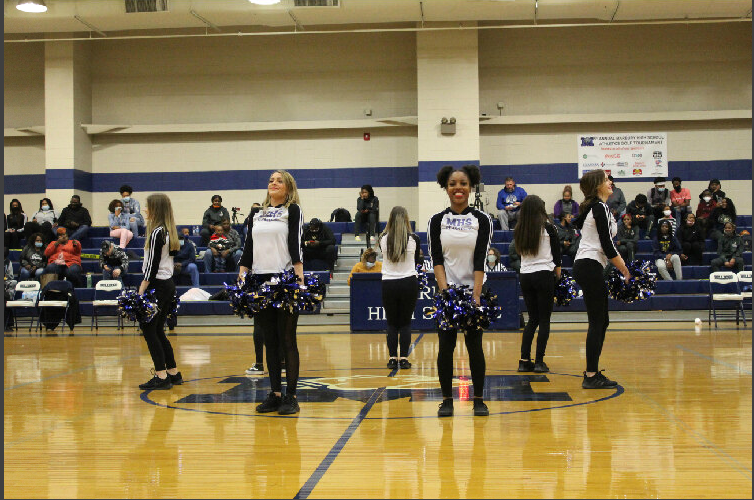 Dance Team Performing