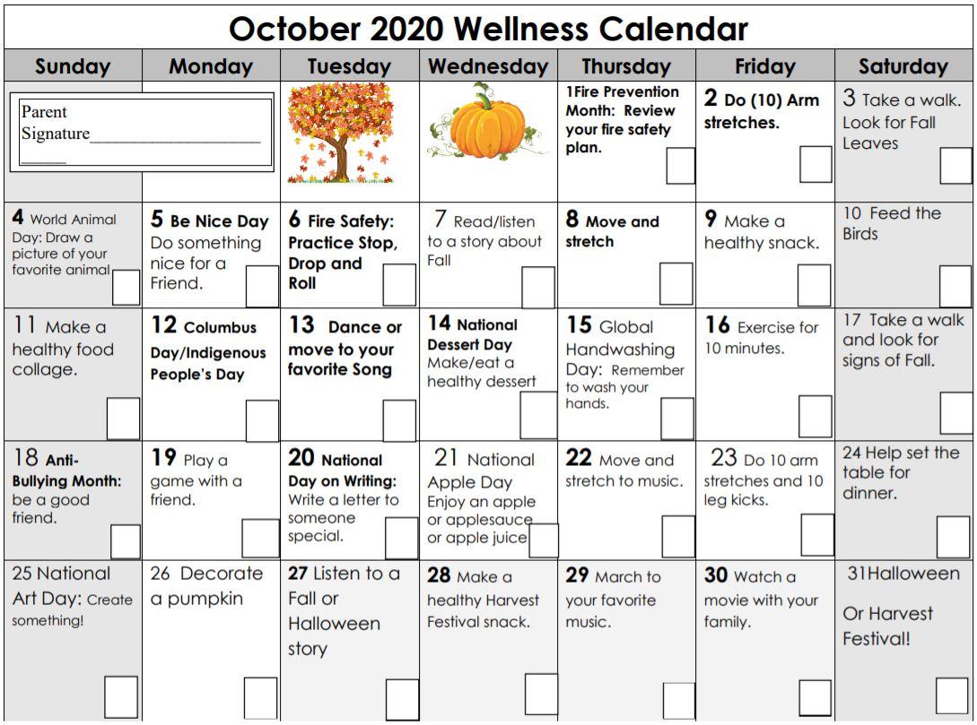 October Wellness
