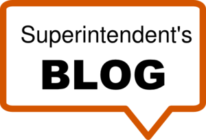 Superintendent Blog about COVID-19